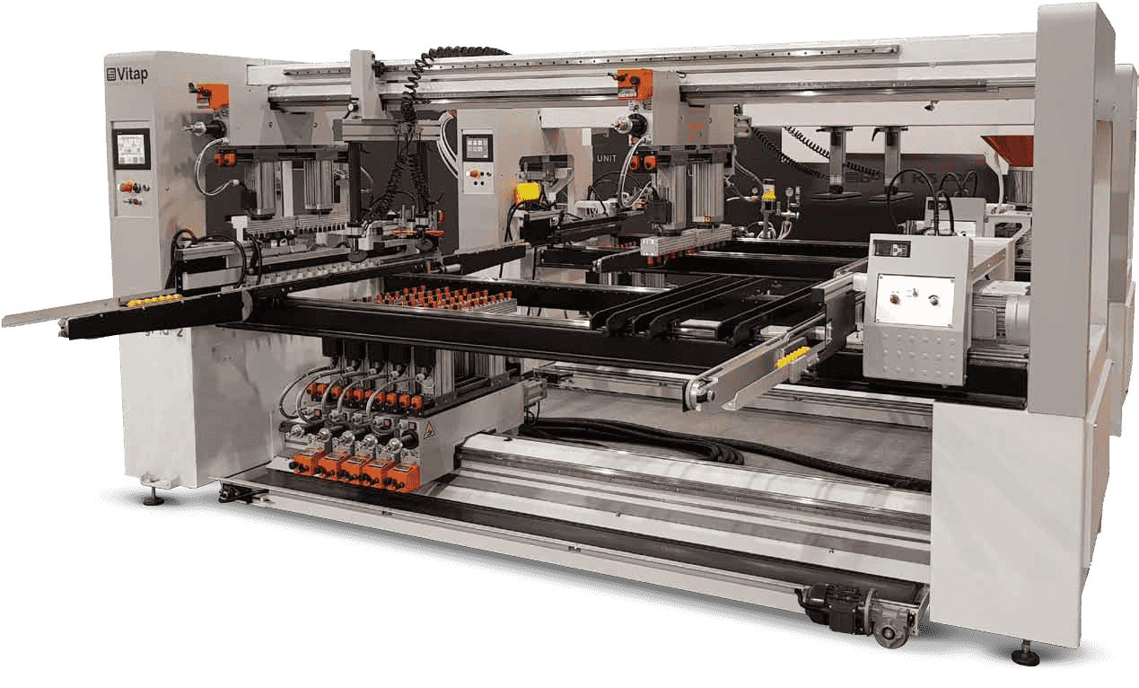 Vitap - Boring Machines for large-scale production